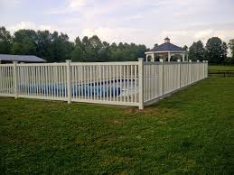 vinyl picket fence front yard. Vinyl-Cayuga-yard-fence -installed-around-an-inground-pool-in-Vernon,-NY-by-Poly-Enterprises1 Vinyl Picket Fence Front Yard S