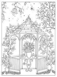 Garden Coloring Pages For Adults Secret Garden Colouring Pages