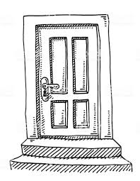 closed door drawing.  Door Closed Door Drawing Royaltyfree Closed Door Drawing Stock Vector Art U0026amp  More Images On