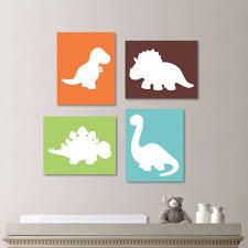 dinosaur wall art for nursery