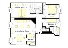 apartment 3 bedroom. floorplan of our 3 bedroom bergerac apartment rental in paris l