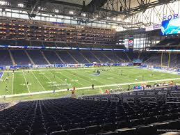 Ford Field Section 124 Detroit Lions Rateyourseats Com