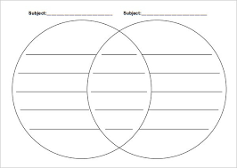 Printable Venn Diagram Graphic Organizer Venn Diagrams Free Printable Graphic Organizers Student Handouts