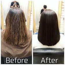 ハイライトカラーをやめて自然な髪色に戻す