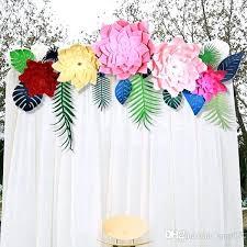 Paper Flower Backdrop Garland Flower Decorations Paper Garland Wedding Garland Flower Garland