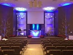 Church Stage Design Ideas Woven With Snow Church Stage Design Ideas