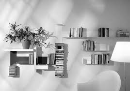 Designer Books Decor Charming White Wooden Modern Wall Shelves For Book Shelf Over Curved 39