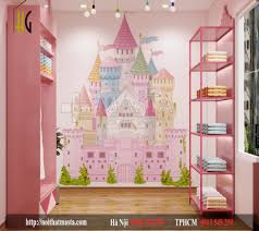 Hình ảnh thiết kế nội thất shop thời trang mẹ và bé vừa đẹp giá lại rẻ