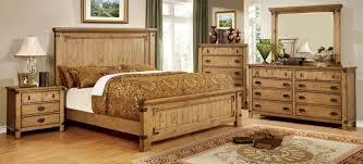Pine Bedroom Furniture Set Furniture Of America Cm7449ek Cm7449n Cm7449d Cm7449m Pioneer 4