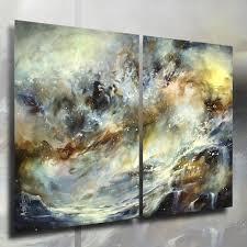 michael lang abstract art painting 36 x 48 contemporary decor original free ship