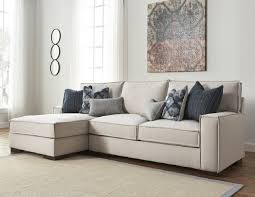 Kendleton Sectional by Ashley Furniture Stone Color Fabric