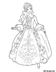 Small Picture Coloring Page Of Princess Beauty Pages For Kids Printable Free