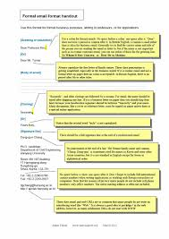005 Formal Email Template Examples Ideas Professional