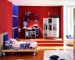 Bedrooms New Red Bedroom With Persian Carpet Red Color Bedroom