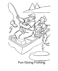 Small Picture Coloring Pages Of Fishing Man AZ Coloring Pages Man Fishing On