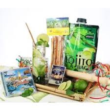 havana mojito party gift basket