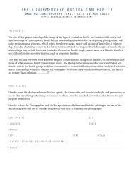 Contract For The Sale Of Fine Art Photography Generic Model Release ...