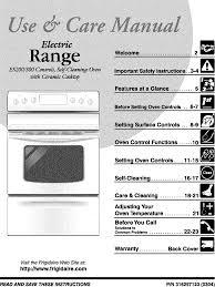 frigidaire fef365aqb user manual electric range manuals and guides l0309010
