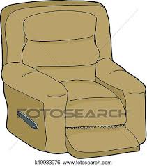 recliner chairs clip art. Wonderful Art Clip Art  Isolated Recliner Fotosearch Search Clipart Illustration  Posters Drawings Inside Recliner Chairs L