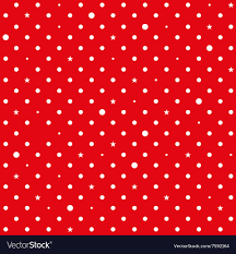 red and white polka dot background. Unique Background Red White Star Polka Dots Background Vector Image Throughout And Dot E