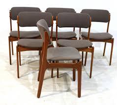 4 erik buch od 49 mcm teak chairs will be custom reupholstered each 349