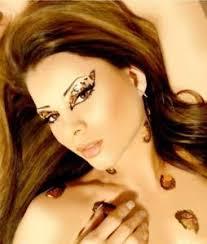 image is loading xotic costume glitter rhinestone eye makeup eyelash