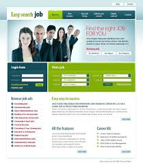 job template anuvrat info job portal website template 22059