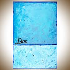 live by qiqigallery 36 x24 original modern abstract wall paintings large wall art art