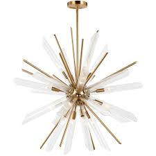 starburst chandelier by feiss  fbbs