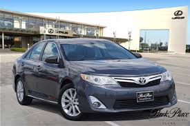 2012 Magnetic Gray Metallic Toyota Camry 3.5L For Sale - Park Place