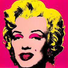 andy warhol marilyn monroe pink