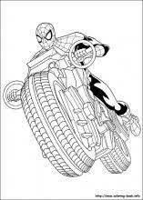 Small Picture Ultimate Spider Man coloring pages on Coloring Bookinfo