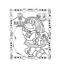 Small Picture Coloring Page 1st Grade
