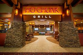 Restaurant Design - Ho-Chunk Grill entrance after remodel.