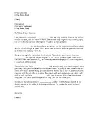 Letter Of Recommendation For College Professor Position Letter