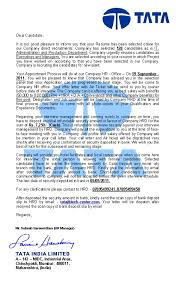 Tata India Limited — Fake Appointment Letter, Page 5