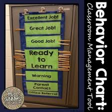 Free Printable Charts For Classroom Printable Behavior Chart Classroom Management Tool By Miss