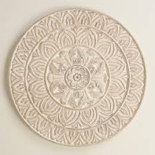 bedroom wall plaques. Whitewashed Round Wood Shaila Wall Decor · PlaquesDream BedroomBedroom Bedroom Plaques