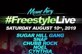 Sherman Theater Summer Stage Seating Chart Mt Airys Freestylelive Tickets Summerstage At Mount Airy