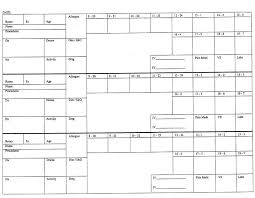 Report Sheet Template 15 Nurse Report Sheet Template Resume Statement