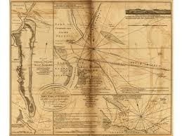 Plan Of Amelia Island In East Florida And A Chart Of The Entrance Into St Marys River Taken By Capt W Fuller In November 1769 And A Chart Of The