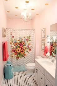 Girly Bathroom Ideas Best Girls' Bathroom Mini Makeover In One Afternoon Paint Color