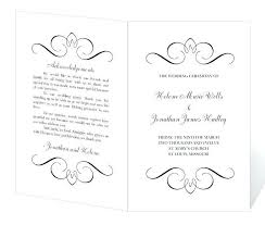 Free Microsoft Word Wedding Program Template Wedding Program Templates Free Microsoft Word Templates
