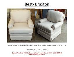 Best Chairs Barnett Furniture Swivel Swivel Gliders
