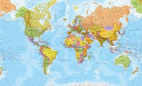 High Quality World Map Political World Map