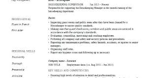 Cleaner Sample Resume House Cleaner Resume Sample Resume For Cleaner New House Cleaning Resume