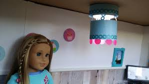 craft for girl or doll diy locker light doll chandelier
