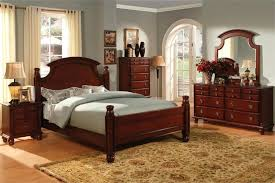 dark cherry wood bedroom furniture sets. Cherry Wood Bedroom Set Style Furniture Dark Queen Bed Solid  Sets M