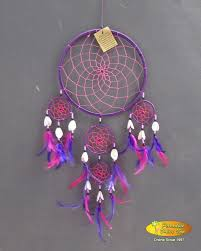 How To String Dream Catcher Wholesale Bali Dreamcatcher nylon string purple thread with 55