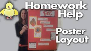 How To Design A Poster For School Homework Help How To Design Create And Layout A Poster Project